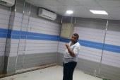 مستشفي سيدي سالم بعد تنفيذ غرفه اشعه مقطعيه