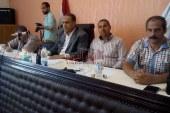 مساعد محافظ كفرالشيخ يطالب المسئولين بعدم اعطاء فرصة للبناء المخالف
