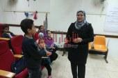 بالصور وكيل تعليم بني سويف تتابع فعاليات المنتدى التعليمي