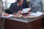 بالصور رئيس مدينه الفشن جنوب بنى سويف يتابع المصالح الحكوميه ومنتجات القوات المسلحه