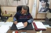 """رئيس مركز ومدينة سمسطا يوقع على استمارة """"علشان تبنيها"""" لمستقبل وطن"""