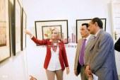 انامل دينامكية معرض للفن التشكيلى بدار ابن لقمان بمتحف المنصورة