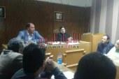 وكيل وزارة الصحه بالقليوبية يجتمع برؤساء الأقسام والإدارات