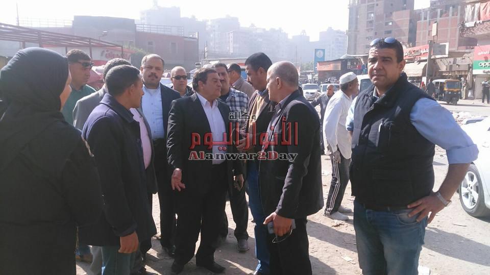 اللواء/ محمود عشماوي محافظ القليوبيةيتفقداليوم المدرسة اليابانية بمدينة العبور