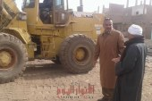 بمساعدة الأهالى…رفع 30 طن مخلفات بنجع حمادى بمحافظة قنا