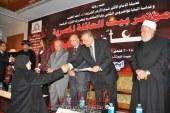 """بالصور…""""الدالى"""" يشارك بيت العائلة المصرية فى مؤتمر """" معاً ضد الإرهاب """""""