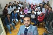 ختام فاعليات اعداد القاده بحزب المؤتمر بالاسكندرية