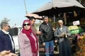 حملة مكبرة لازالة التشوينات بمدينة قليوب وحملة لرفع الاشغالات بمدينة الخانكة