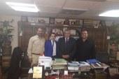 الانصاري يكلف السعيد برئاسة منظمة حقوق الانسان بالفيوم