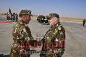 قايد صالح مستمر في الإشراف على جيشه زيارة الرابع من فبراير إلى الناحية العسكرية السادسة