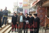 بالصور : رئيس حي الهرم يشن حملة مكبرة بأخر فيصل والمريوطية