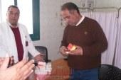 بالصور : جولة رئيس مدينة ابشواى بالعلوية لمتابعة حملة التطعيم ضد مرض شلل الأطفال
