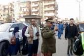 سحب 63 رخصة قيادة وحجز3سيارة وحجز ا دراجة نارية بدون لوحات معدنية  خلال حملة مرورية بمدينة شبرا الخيمة