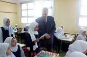 عجلان يحضر فاعليات مشروع قيم وحياة المرحله الثالثه بمجمع ميت حلفا للتعليم الاساسي .