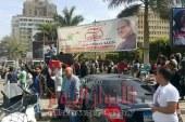 اقبال غير عادى بميدان مصطفى محمود فى الانتخابات الرئاسيه
