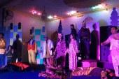 فرقة سماد طلخا تتالق بعرضها المسرحى لعبة الحب والثورة بثقافة الدقهلية