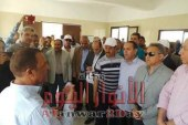 """النويشى"""" :لجنة الإدارة المحلية بالبرلمان تستهل زيارتها لأسوان بتفقد محطة مياه جبل شيشة"""