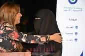 بالصور رزان مغربي تقبل علم مصر