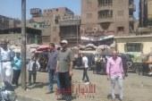 """""""نـــور"""" يؤكد إستمرار حملات إزالة الإشغالات بحى شمال الجيزة"""