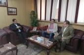 صقر يستقبل الرئيس التنفذى لجهاز شئون البيئة بديوان عام المحافظه