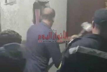 """على طريقة فيلم """"""""بين السما والارض"""""""" الحماية المدنية بالقاهرة تنقذ سيدتين وطفلة تعطل بهم مصعد بأحد العقارات بمدينة نصر"""