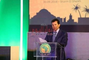 بالصور…وزير الشباب والرياضة يشارك في إجتماع الجمعية العمومية للاتحاد الافريقي لكرة القدم