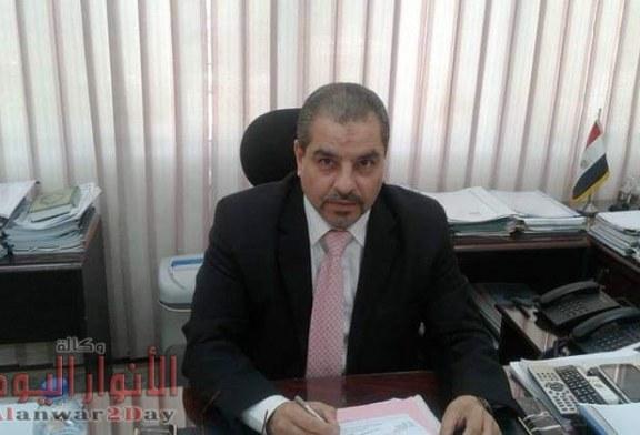 المهندس رأفت شمعه رئيس شركة مصر العليا لتوزيع الكهرباء يستعرض الإنجازات التي قامت بها الشركه في مجال تأمين التغذيه الكهربائيه