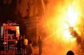 """حرق القمامة يسبب اختناق 6 اشخاص بعزبة """"التيرو"""" بالإسكندرية"""
