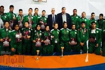 أشبال المصارعة الجزائرية يحصدون18ميدالية في يومين