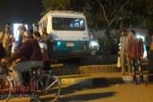 عاجل .. مصرع شخصين تحت عجلات ميكروباص المشتل ومقتل السائق علي يد الاهالي