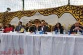 بالصور.. رئيس «مصر الثورة» يفتتح مقر الحزب بالقليوبية بحضور جماهيري