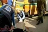 مجهولون يطلقون النار علي مهندس بموقف دمنهور أمام المسافرين