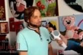 لقاء صحفي مع الفنان حكم النعسان