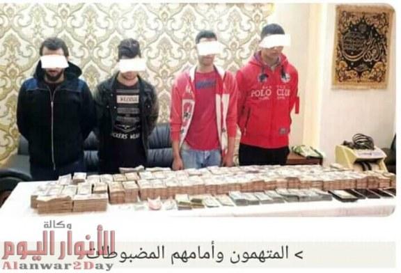 نجاح أجهزة الامن فى ضبط المتهمين بسرقة 5مليون من خزينة فندق بالمهندسين