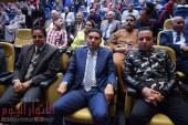 """تحيا مصر، يحيا السيسي """" هتاف المشاركين في مؤتمر صوت الشعب لدعم التعديلات الدستورية"""