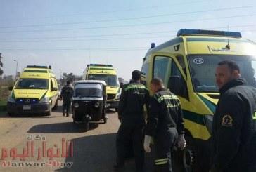 مصرع وإصابة 3 مواطنين فى حادث تصادم على الطريق الدولي بكفر الشيخ