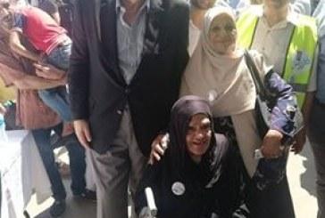 إقبال كبير لكبار السن بغرفة الاسكندرية للإدلاء باصواتهم