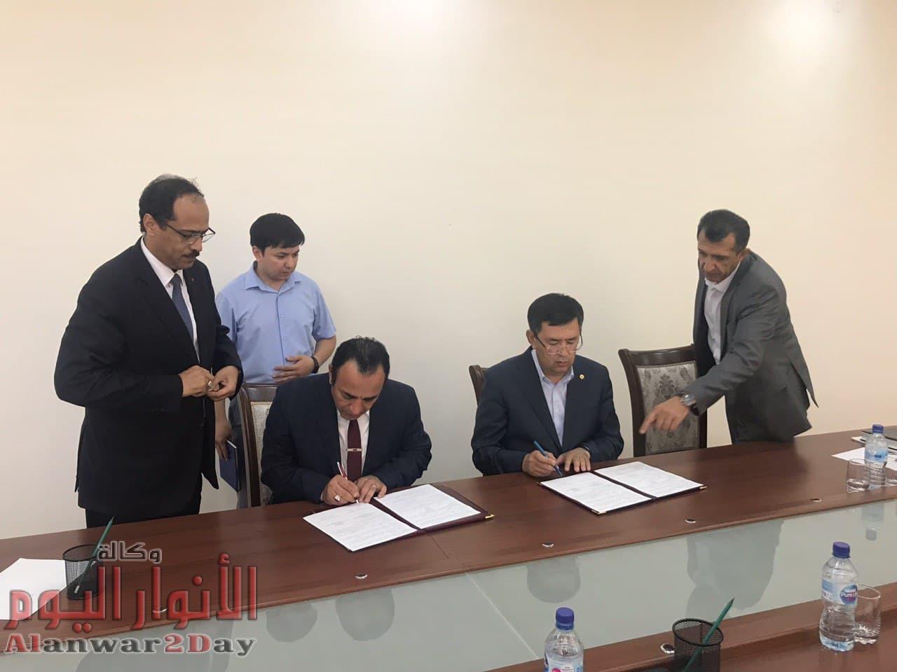بالصور..توقيع اتفاق مصري اوزباكستاني لتطوير مزار الامام البخاري الدمراوي: الاتفاق يتضمن قاعة اجتماعات ومسرح وفنادق ومطاعم سياحية