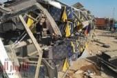مصرع 3 أشخاص وإصابة آخرين في حادث مروري مروع طريق قنا نجع حمادي