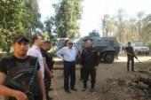"""قوات الأمن تهدم منزل """"رمانة """" و50 مدرعه تحاصر قرية الحجيرات"""