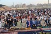 بالصور: محافظ المنوفية يؤدي صلاة عيد الأضحي وسط جموع المصلين بالإستاد الرياضي بشبين الكوم