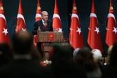 يرفض الوسطية في الإسلام الرئيس التركي والقائد المسلم البارز رجب طيب أردوغان