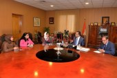 رئيس جامعة المنصورة يجرى مقابلات اختيارأعضاء مجلس معاونيه من الهيئة المعاونة