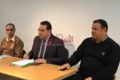 اجتماع عميرة بمديرى المواقع الثقافية التابعة للفرع للوقوف على مشكلاتها وطرح الحلول