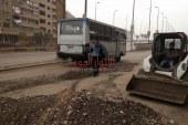 ترميم الحفر بكوبري السواح وشارع ترعة الإسماعيلية بالقليوبية  بمسطرد