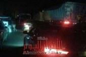 شلل مروري على الطريق الزراعي السريع في إتجاة  القاهرة بنها بقليوب