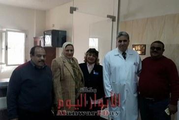 افتتاح عيادات الشرطه بمنطقه النجده الغردقه