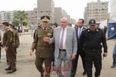 مدير أمن القليوبية يتفقد خدمات  طريق الحر ومعسكر قوات أمن شبرا الخيمة والجوازات