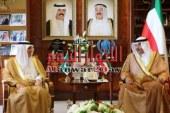 أمير الكويت يستقبل وزير الخارجية السعودى