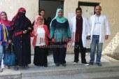 اقبال غير مسبوق فى القافلة العلاجية المجانية بقرية طبهار
